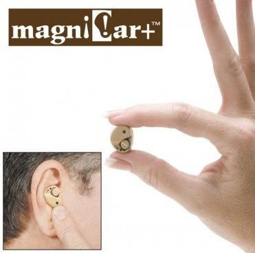 amplificador auditivo magni ear, aumenta el volumen