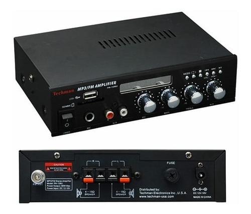 amplificador audución publico american sound con bluetooth