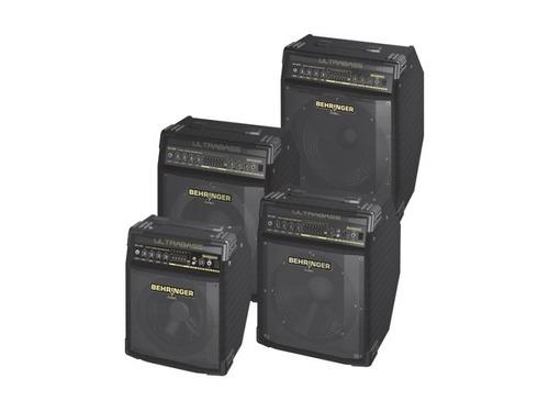 amplificador baixo behringer música
