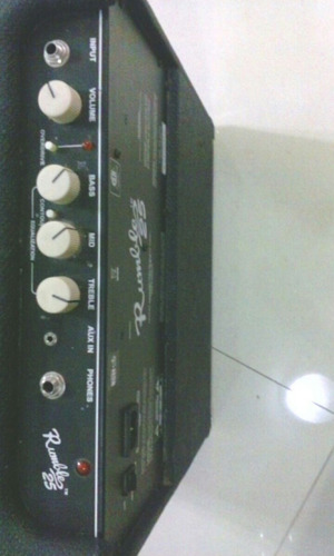 amplificador bajo fender rumble 25 v iii posible cambio