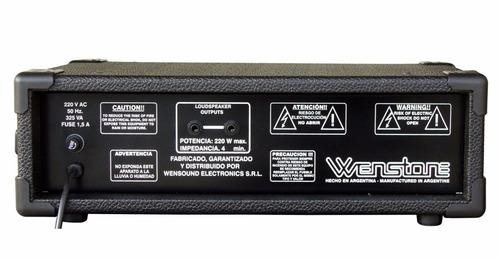 amplificador bajo wenstone