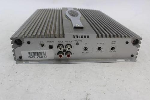 amplificador bazooka ba1500