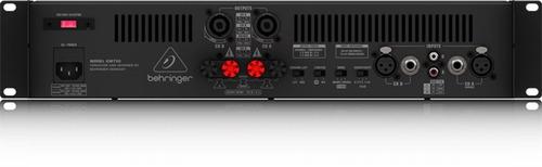 amplificador behringer km750 con 750 watts en bride mono