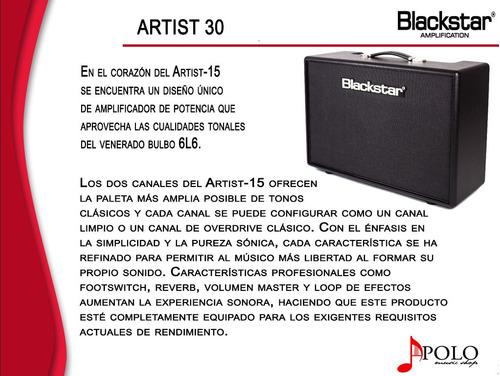amplificador blackstar artist 30