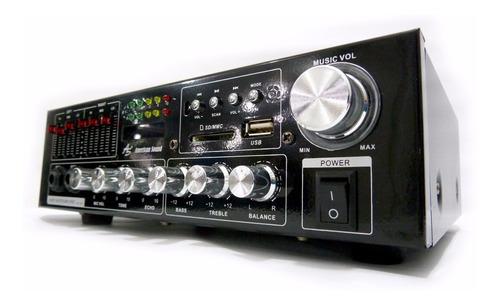 amplificador bluetooth 200w american sound