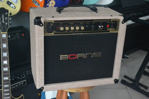 amplificador borne guitarra
