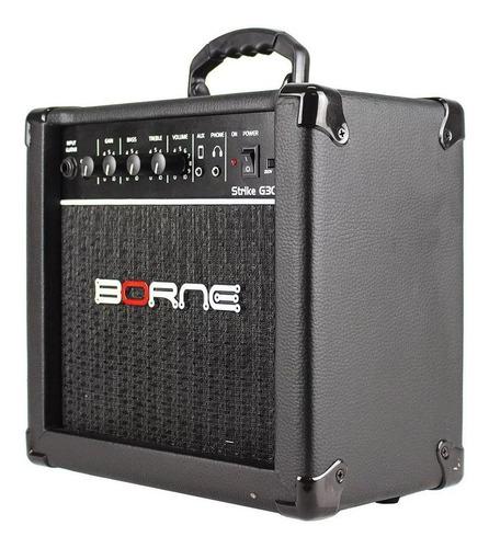amplificador borne guitarra strike preto g30 borne oferta