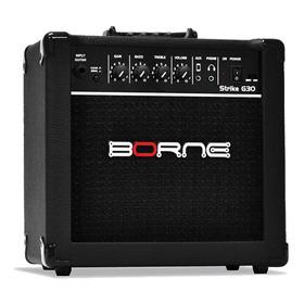 Amplificador Borne Strike G30 15w Preto 110v/220v