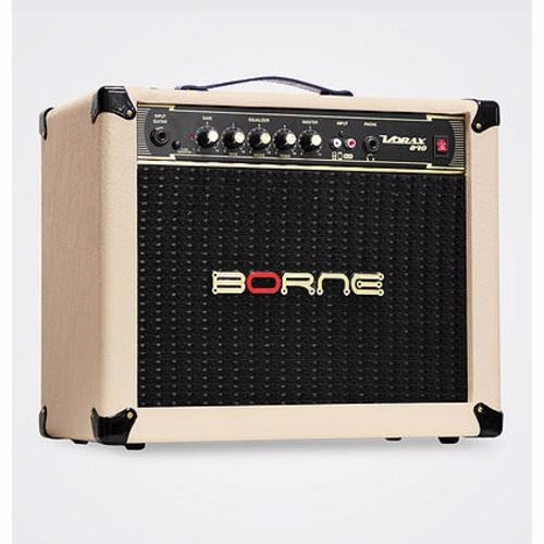 amplificador borne vorax 840 40w creme frete grátis