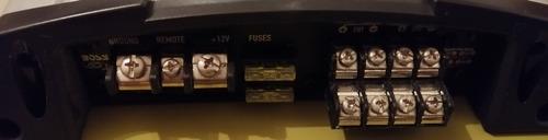 amplificador boss gt780 1000watts 4 canales