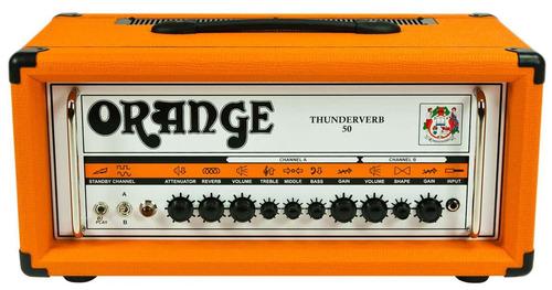 amplificador cabezal orange tv50h thunderverb 100% bulbos