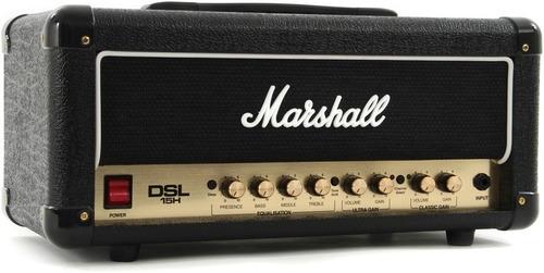 amplificador cabezote marshall dsl 15h para guitarra dsl15h