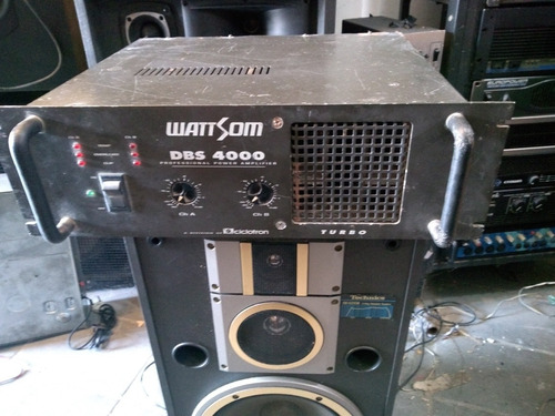 amplificador ciclotron dbs 4000