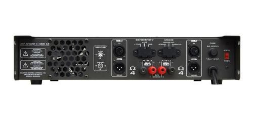 amplificador ciclotron wpower6800 - frete grátis 12x s/juros