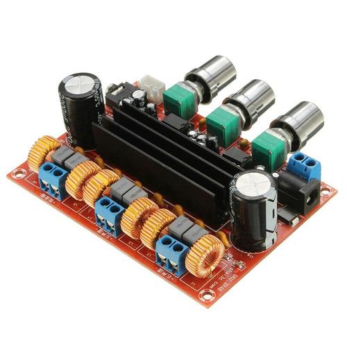 amplificador clase  d  2.1 de 200w  para autoradio o casa.