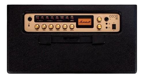 amplificador combo guitarra code 50w (envio gratis) marshall