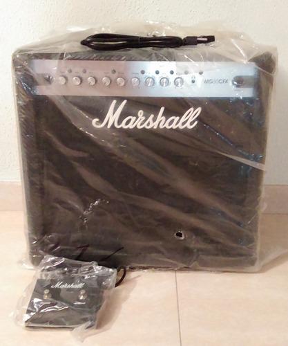 amplificador combo marshall p/ guitarra mg50cfx nuevo!!