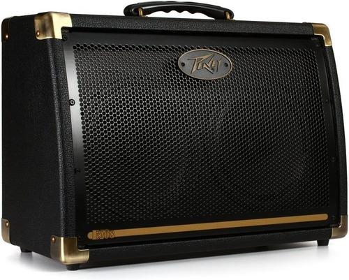 amplificador combo violão peavey ecoustic e208 peça única nf