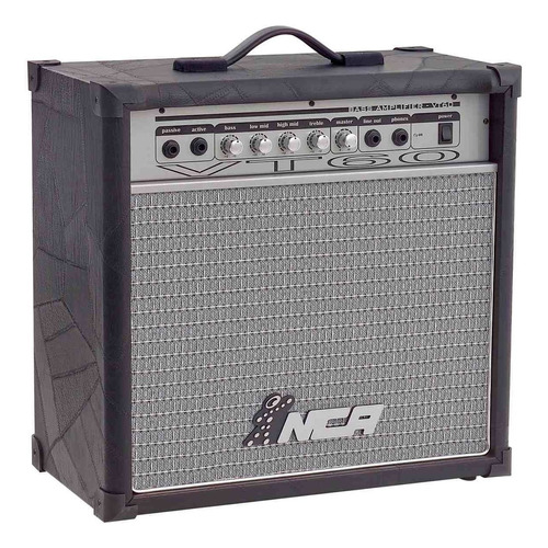 amplificador contra baixo 10 polegadas 60 watts rms vt60 nca