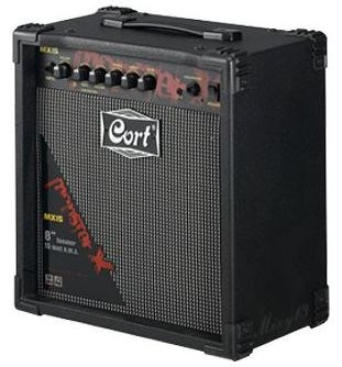 amplificador cort mx15r eq3b.distortion.reverb.cd input/audf