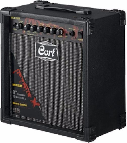 amplificador cort mx15r para guitarra electrica combo 15w