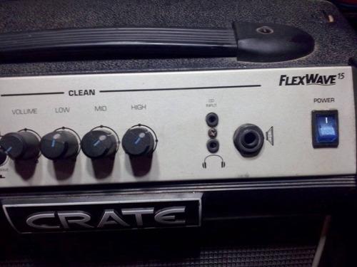 amplificador crate flexwave 15w
