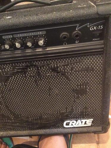 amplificador crate gx-15