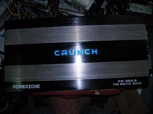 amplificador crounch 5 canales