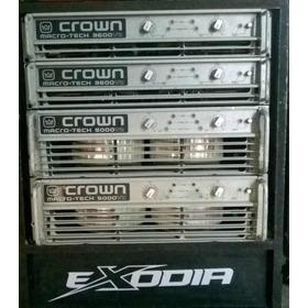 Amplificador Crown 3600vz