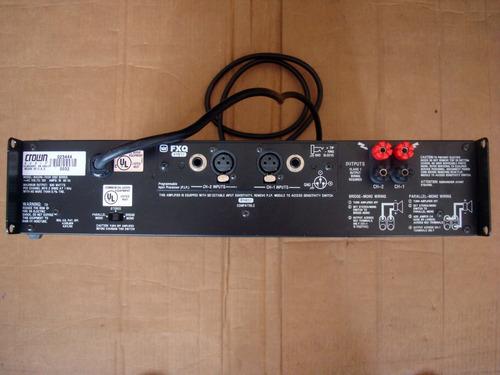 amplificador crown macro tech 1202, excelente