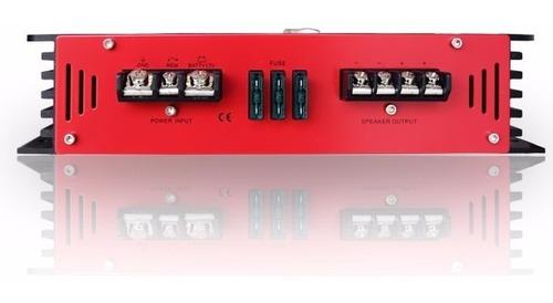 amplificador crunch gtr3000.1 3000w bajos clase d graves