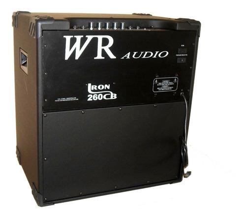 amplificador cubo baixo iron 260 15  150w rms