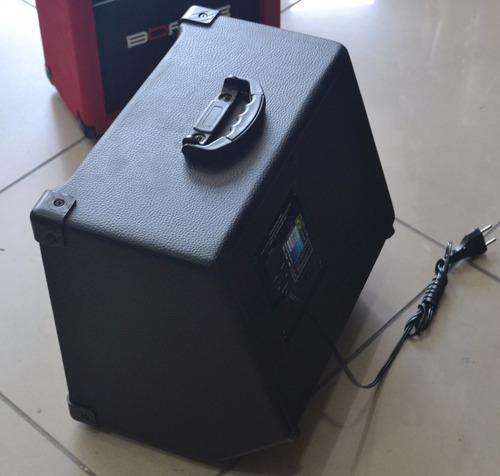 amplificador cubo borne impact bass cb60  contra - baixo