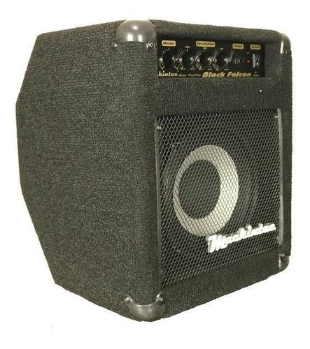 amplificador cubo para contra baixo black falcon 60 watts m