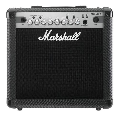 amplificador d guitarra eléctrica marshall mg15cfx + envío