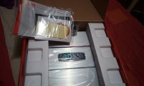 amplificador d sonido boss chaos ch4300 1200 watts 4 canales