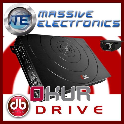 amplificador db drive 1000 w okur a3 1000.1d subwoofers  dpa