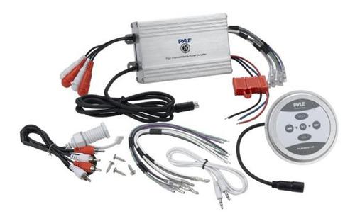 amplificador de 1200 watt 4 canales resistente al agua