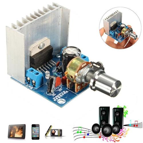 amplificador de 40 watios estereo potencia maxima.
