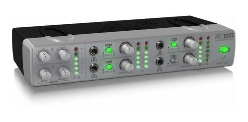 amplificador de audífonos behringer amp800 2 entradas amp