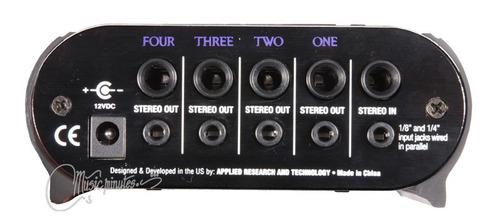 amplificador de audifonos de 4 canales
