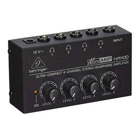 Amplificador De Audífonos Ha400 Behringer En Stock Evzpro