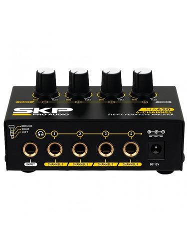 amplificador de audifonos ha420 skp audio