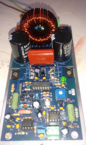 amplificador de áudio digital de 2000w rms  montado tds 2.0