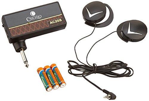 amplificador de auriculares cecilio ac-20s con 3 interrup...
