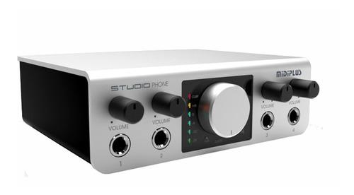 amplificador de auriculares profesional midiplus studio phon