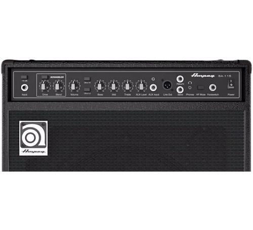 amplificador de bajo ampeg ba-115 v2 de 150w