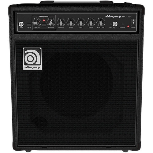 amplificador de bajo ampeg ba110 40w