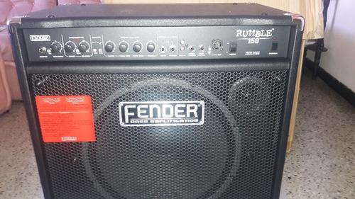 amplificador de bajo fender rumble 150 watts, 300 lechugas