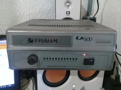amplificador de caixas de som frahm la 900 **descrição**